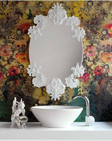 Elegantes espejos vintage 10decoracion - Espejos vintage retro ...